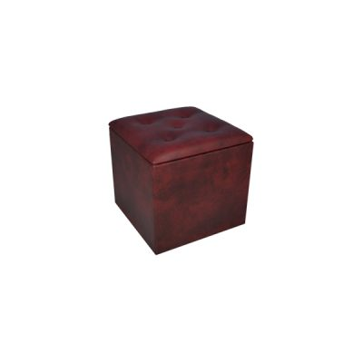 ox blood cube seat wedding furniture hire