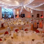Cosby Golf Course wedding decor