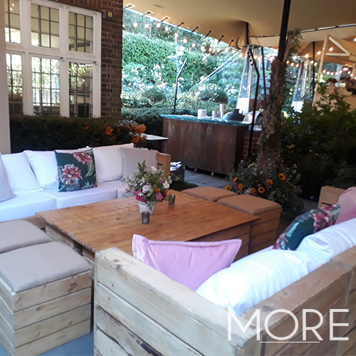 Rustic Large Rectangular Coffee Table hire