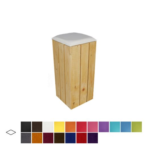 pallet poseur stool wedding hire