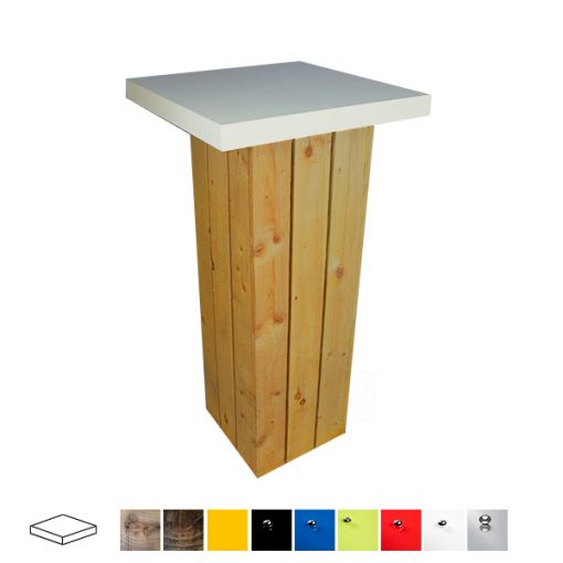 pallet poseur table wedding hire