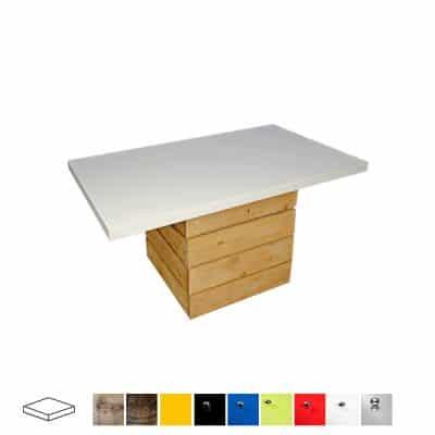 pallet rectangular coffee table wedding hire