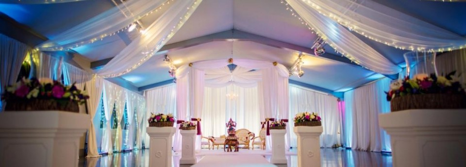 Ladywood mandap Indian wedding