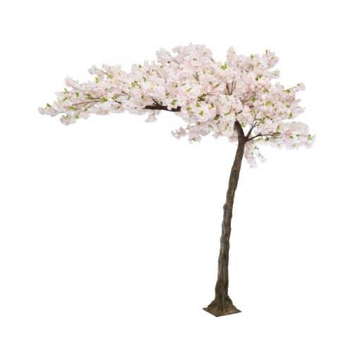 pink blossom tree hire wedding decor