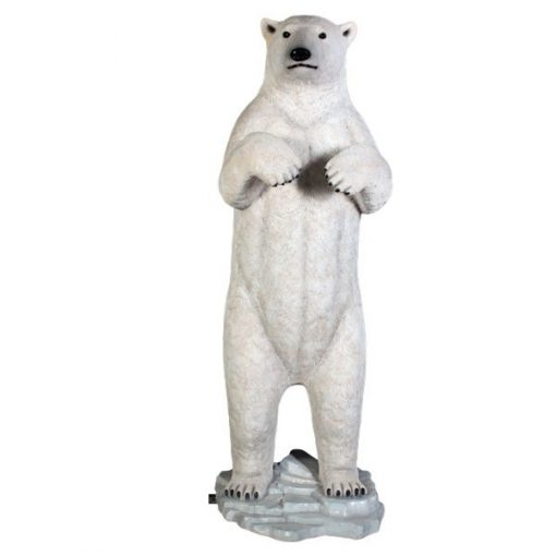 polar bear prop wedding hire