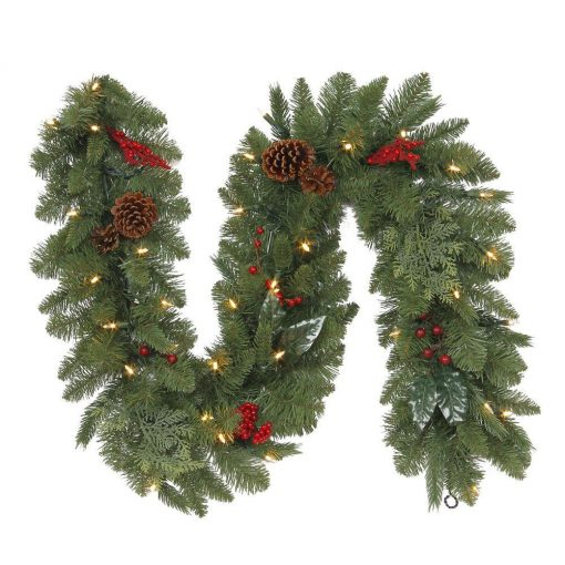 christmas garland wedding hire