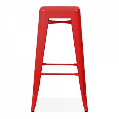 red tolix stool wedding hire