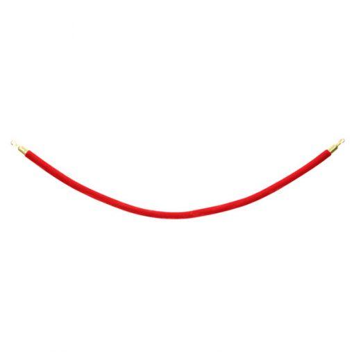 red velvet post rope wedding decor hire