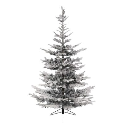 snow flocked christmas tree winter wedding decor hire