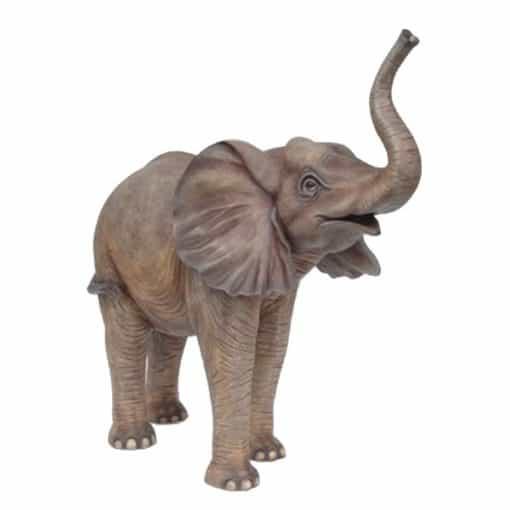 standing elephant wedding prop hire