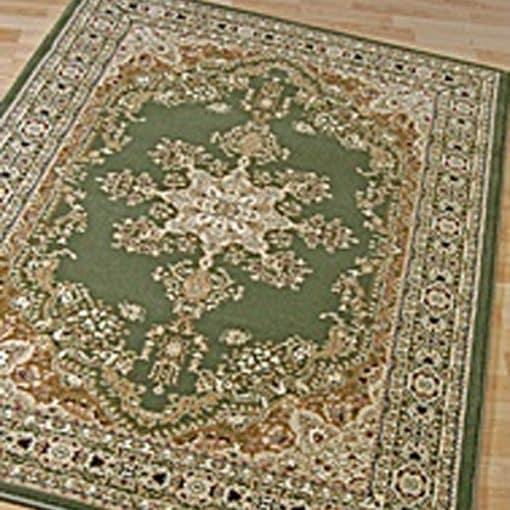 traditional green rug mehndi wedding decor
