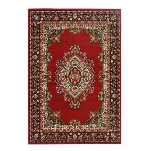 traditional red rug mehndi wedding decor