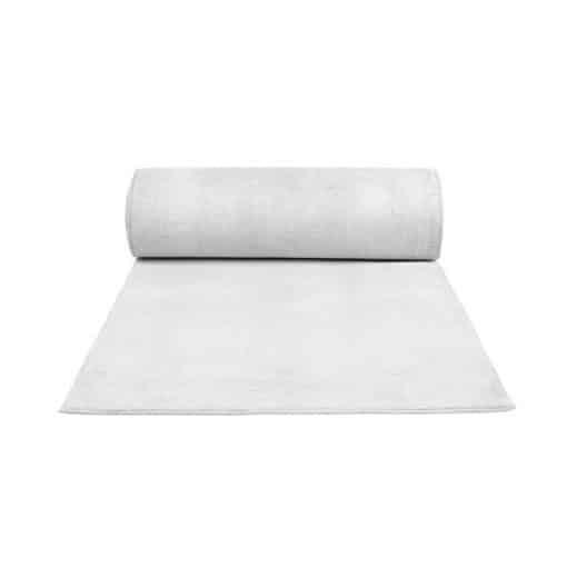 white carpet wedding decor hire