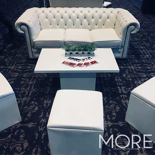 Colours Rectangular Coffee Table hire