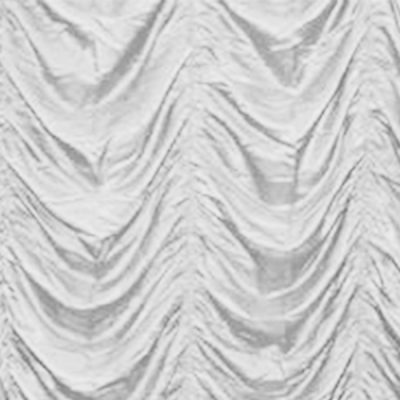 white cabaret drape wedding hire