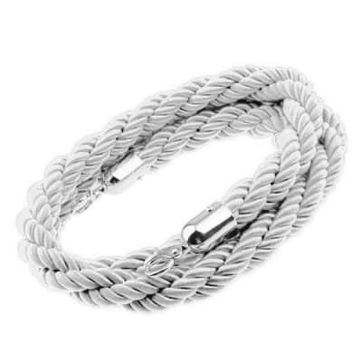 white post rope wedding decor hire