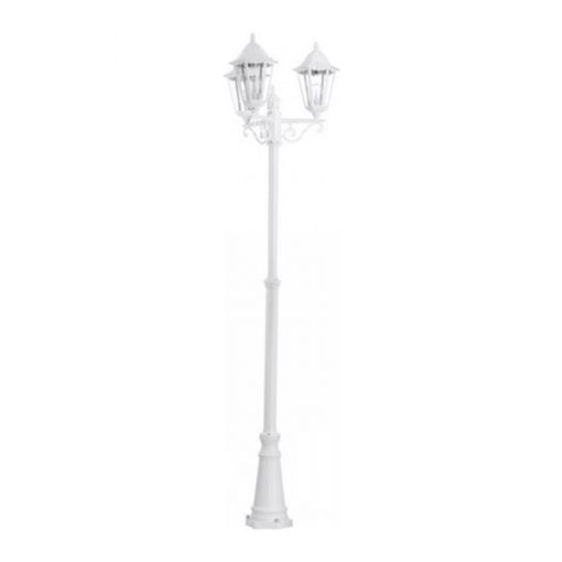 white street lamp prop hire wedding decor