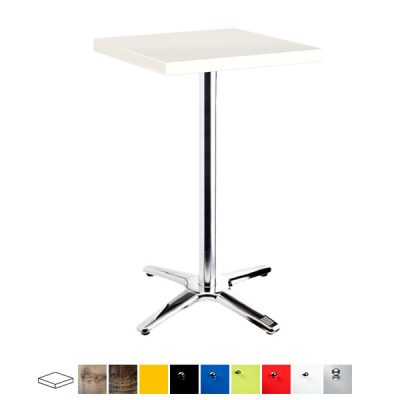 chrome poseur table wedding furniture hire