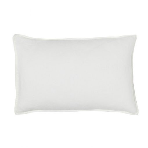 white rectangular cushion wedding decor