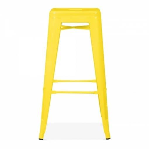 yellow tolix stool wedding hire