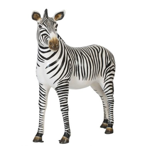zebra prop hire wedding decor