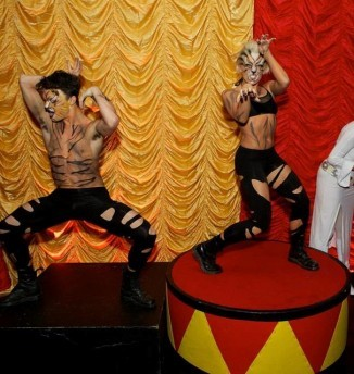 circus plinth wedding decor hire