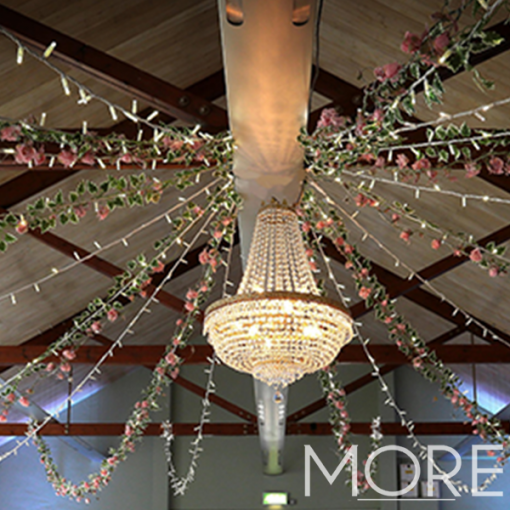 Empire Crystal Chandelier hire