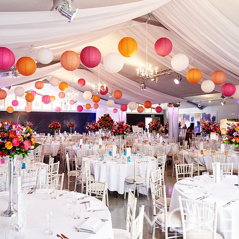 More Weddings paper lantern wedding hire