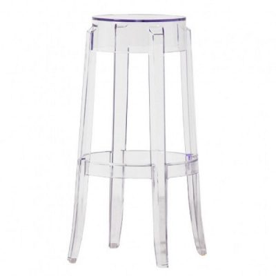 ghost poseur stool wedding furniture hire