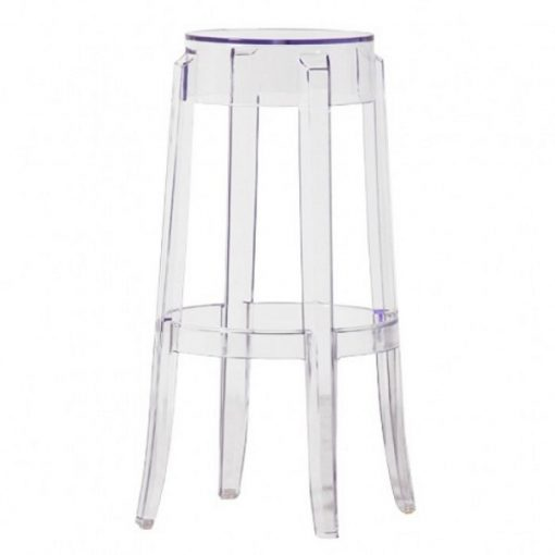 ghost poseur stool wedding furniture hire