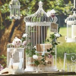 giant bird cage card holder