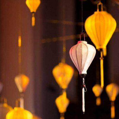 silk lantern hire wedding decor