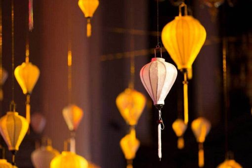 silk lantern hire wedding decor
