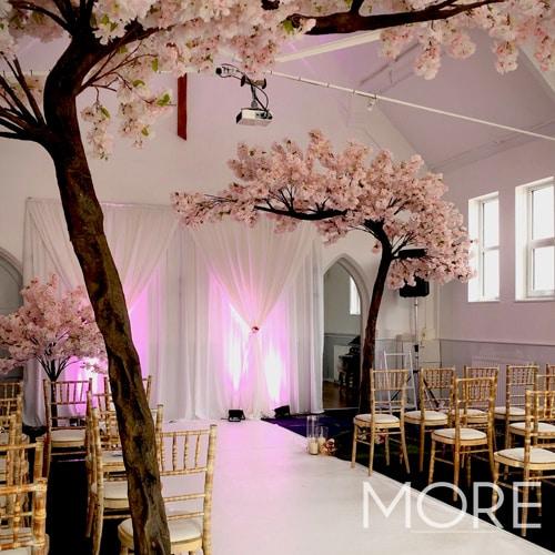 3.2m Canopy Pink Blossom Tree wedding hire