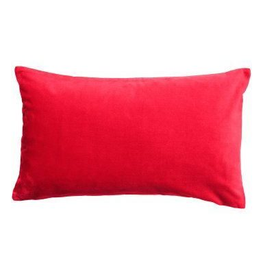 red velvet cushion wedding decor hire