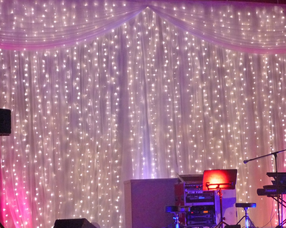 Fairy Light Curtain Image 6