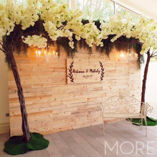 3.2m Canopy White Blossom Tree wedding hire