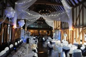 winter wonderland themed wedding